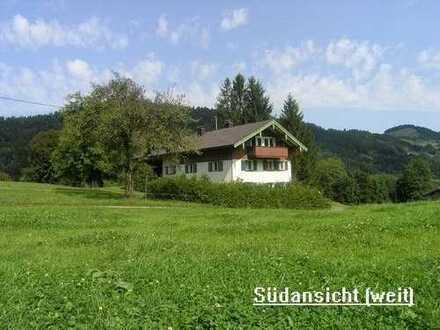 Bauernhaus in Alleinlage bei Oberstaufen im schönen Oberallgäu