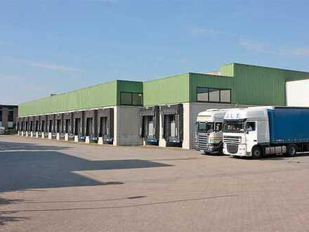 Logistik-, Lager- und Büroflächen