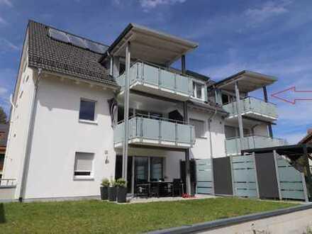 Hechingen-Stein: Einziehen und Wohlfühlen ! Neuwertige Maisonettewohnung
