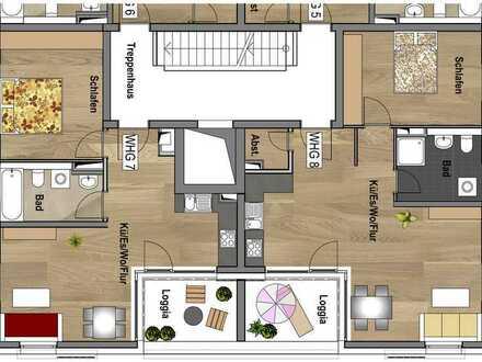 1.Obergeschoss - Wohnung 07