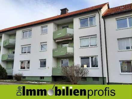 Großzügige, renovierte 3-Zimmer-Wohnung mit Balkon in Selb