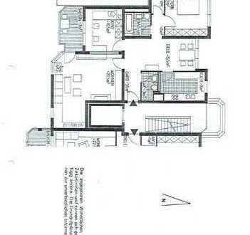 Exklusive, gepflegte 3,5-Zimmer-Wohnung mit Balkon in Stuttgart