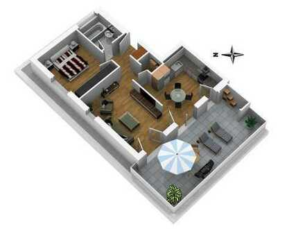 Moderne 2-Zimmer Penthouse Wohnung - NEUBAU