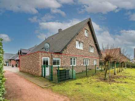 Bocholt: Erdgeschosswohnung mit eigenen Garten