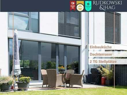 Reihenmittelhaus mit Weitblick ¦¦ Erbpacht ¦¦ Dachterrasse & Garten