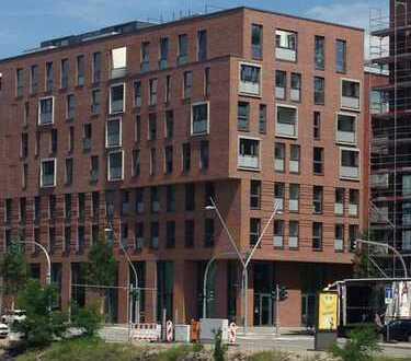 Stilvolle 2-Zimmer-Wohnung mit Loggia und Einbauküche in der HafenCity, Hamburg