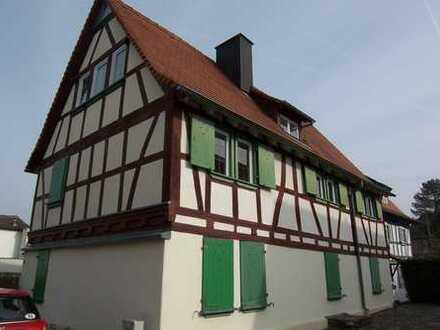 Kompakte Wohnung mit schönem Grundstück (ca. 400 m²)