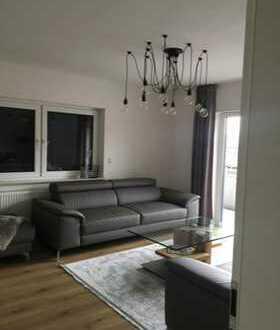 Erstbezug nach Sanierung: exklusive 2-Zimmer-Erdgeschosswohnung mit EBK und Balkon in Hanau