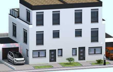 Stadthaus mit Staffelgeschoss und Dachterrasse in Wallertheim / Provisionsfrei
