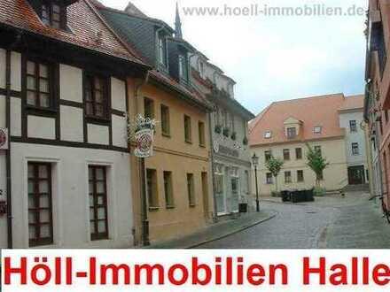 Höll-Immobilien vermietet attraktive 1-Raumwohnung mit Dachterrasse im Zentrum von Köthen