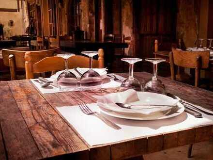 Liebevolles Restaurant in Kiezlage mit überdachter Südterrasse