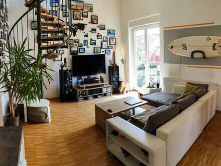 Zentrale Maisonette Wohnung mit besonderem Flair - 2 Balkone & gute Anbindung
