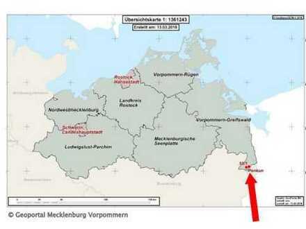 6.906 qm Landwirtschaftsfläche in Büssow bei Penkun im Landkreis Vorpommern-Greifswald