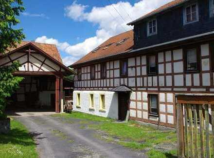 Idyllisch gelege Mühle mit Wohnhaus und Nebengebäuden - Nähe Heldburg