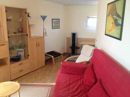 Gemütliches 1-Zimmer-EG-Apartment, möbliert, mit EBK und Tageslichtbad