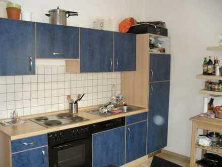 Nähe Plärrer gut geschnittene 2 Zimmerwohnung mit Einbauküche