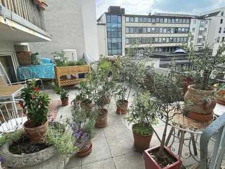 **Sehr zentrale, 3 Zimmer Wohnung mit Terrasse im Herzen der Bochumer Innenstadt**
