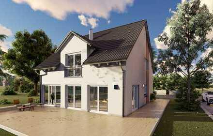 NEUBAUHAUS ERSTBEZUG in Neusäß-Steppach auf 1.200 m² Grundstück, VON PRIVAT, Kein Makler
