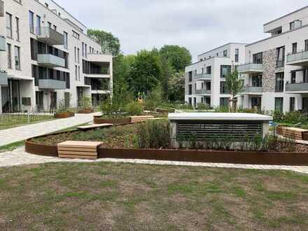 Erstbezug Tarpenbeker Ufer - EG-Wohnung mit EBK, Loggia und Terrasse