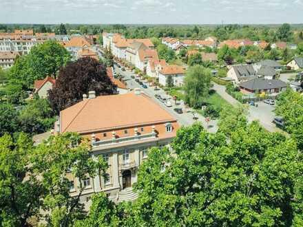 Wohnen in einer geschichtsträchtigen Villa im Herzen von Neuruppin
