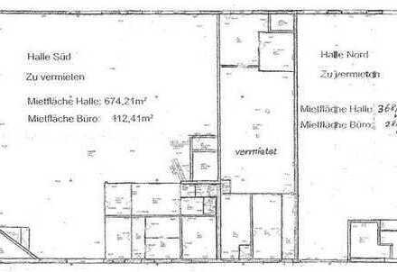22_VH3624 Zwei multifunktionale Hallen mit Büroflächen / Neutraubling