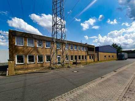 Halle und Büro: Vermietung courtagefrei direkt vom Eigentümer
