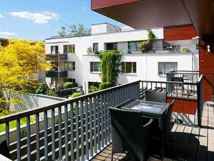Kassel/ An der Fulda/Unterneustadt: Neuwertige, 3-Zimmer-Wohnung mit Balkon mit oder ohne Mobiliar..