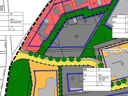 Gewerbegrundstück ca. 2000 m² in Bischofswerda mit Top Anbindung zur B 6 und B 98