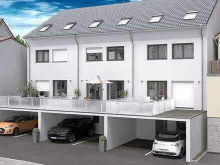 Projektiertes Grundstück mit Baugenehmigung für 3 Reihenhäuser in zentraler Lage von Weinheim!