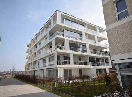 Im 1. Monat mietfrei ! Wohnen am Fluss - Hochwertige Neubau-Wohnung mit tollem Blick auf die Weser