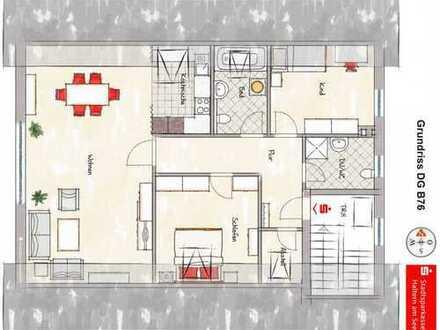 Sythen - Schaffen Sie sich Ihr Wohnparadies mit 2 Stellplätzen auf ca. 82 m² Wfl. im Dachgeschoss!
