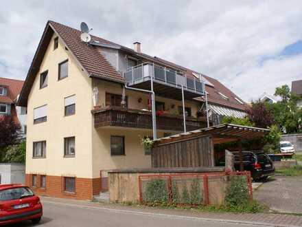 Charmante 3-4 Zimmer Maisonette Wohnung in Weil der Stadt/Schafhausen