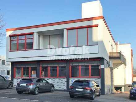 PRODUKTIONSFLÄCHEN/LAGER mit Büro und Wohnung