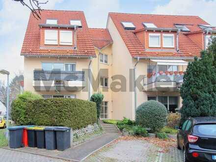 Bei Berlin: Bewohnte 2-Zi.-ETW mit Terrasse u. kleinem Garten in Hohen Neuendorf - Bergfelde