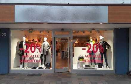 Ladenlokal in 1A-Lage der Fußgängerzone Westerlands!