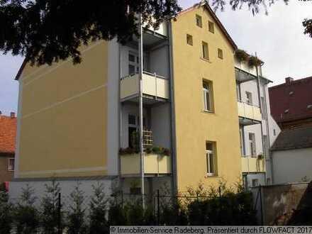 Kleine 3-Raum-Wohnung mit Balkon in der Innenstadt