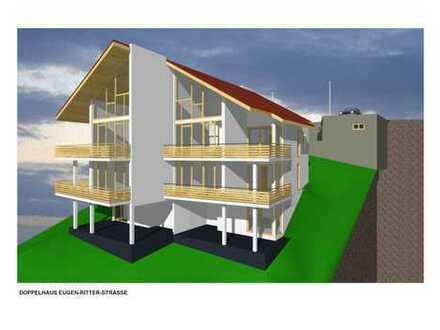 Sonniger Bauplatz, bereits vorgeplantes Haus