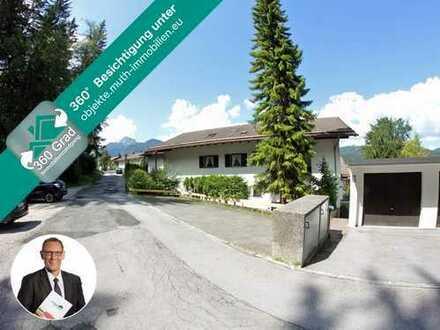Pfiffiges Appartement im Dachgeschoss mit 4 Schlafplätzen in Mittenwald, Nähe Karwendelbahn.