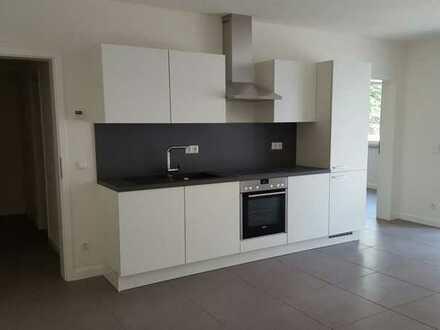 Moderne 2 Zimmer Wohnung mit Einbauküche und kleiner Terrasse in Köln Worringen
