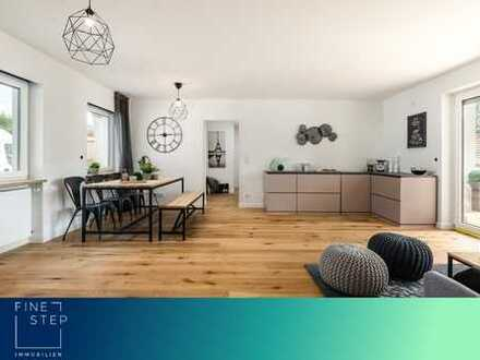 Provisionsfrei! Neu renovierte 4-Zimmer-Terrassenwohnung am Ammersee