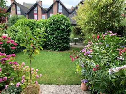 Schönes, helles Haus mit Terrasse und Garten an Gracht zu vermieten