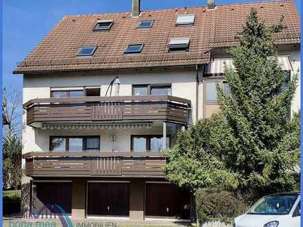 Wohnung mit Charme! 3,5-Zimmer-Maisonette- Wohnung mit Balkon im 2. OG