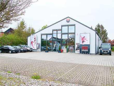 Gewerbehalle für Einzelhandel, Lager oder Produktion