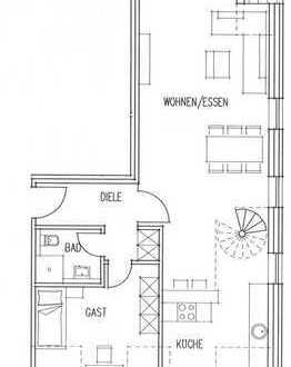 Maisonette Wohnung neben dem Wienburgpark