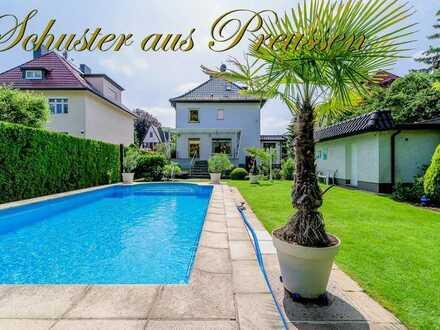 Schuster aus Preussen - exklusive Villa nur 6 km vom Berliner Zentrum - traumhaft ruhige Lage - 5...