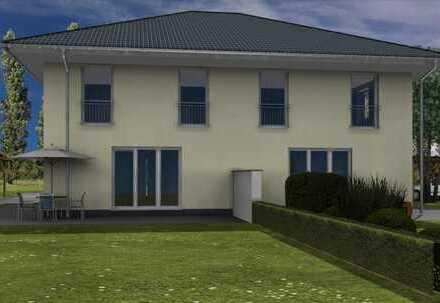 Neubau Doppelhaushälfte in Hoppegarten.