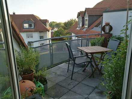 Gemütliche 3-Zimmer-DG-Wohnung mit Balkon und EBK in Pfaffenhofen
