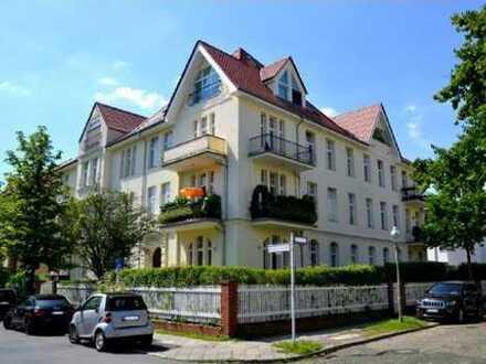 Befristet: Geräumige 5-Zimmer-Garten-Wohnung in Dahlem (Zehlendorf), Berlin