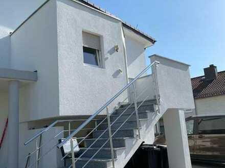 Neuwertige 5-Zimmer-Wohnung mit Balkon und Einbauküche in Mosbach