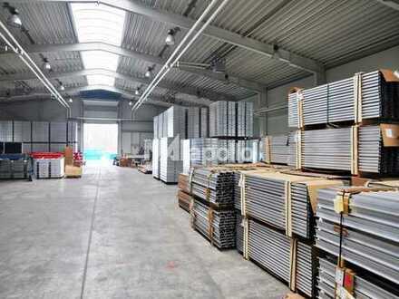 Gepflegte Lager-/ Produktionsflächen mit Kranbahn zu vermieten
